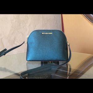 NWT Michael Kors Adele MD dome crossbody handbag